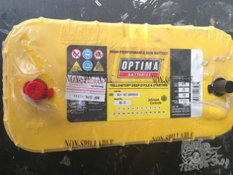 Optima Battery @ Yellow Top