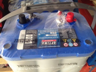 Optima Battery @ Blue Top